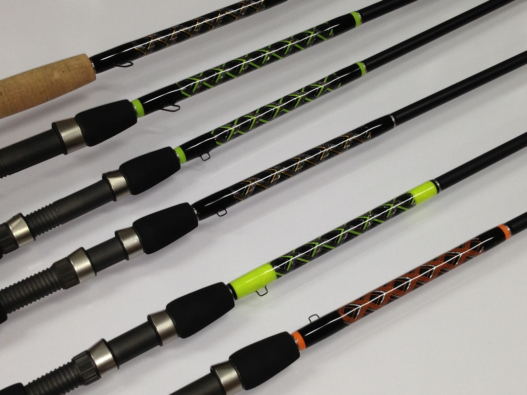 Custom rods juno bait for Personalized fishing pole